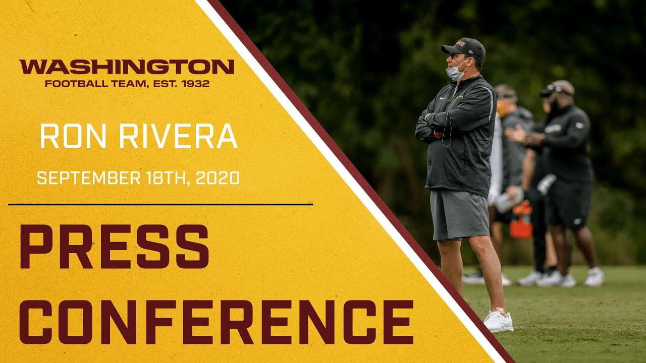 Press Conference - Ron Rivera