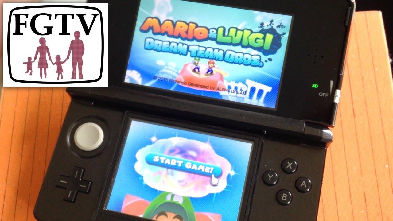 Mario Luigi Dream Team Bros Review Gameplay