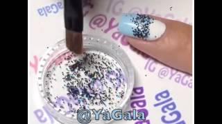Дизайн ногтей: кружевной лунный маникюр в домашних условиях / Lace Half Moon Manicure Tutorial