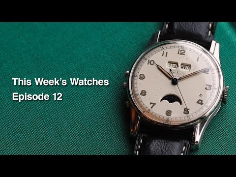 This Week's Watches #12 - Dress Watch Edition (Omega, IWC, Breitling, Angelus)