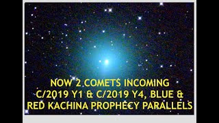 Comet Atlas Incoming w/ Second Object, Blue & Red Kachina Prophecy Parallels, Latest