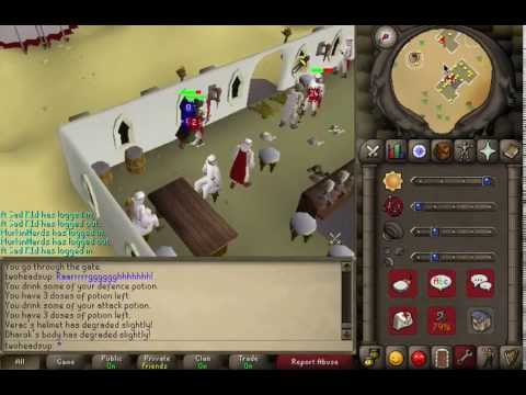 07 Old School Runescape AFK Training Guide: Bandits, No Guthans