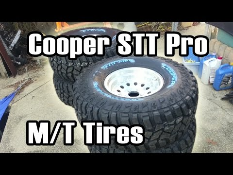 89 Cherokee New 35x12.5 Cooper Discoverer STT Pro Tires