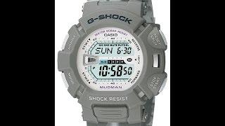 Налаштування годинника Casio G-shock G-9000MC-8 [3031]