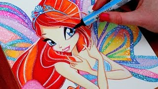 WINX CLUB Drawing BLOOM