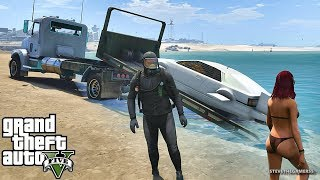 GTA 5 MOD#197 LET'S GO TO WORK!! (GTA 5 REAL LIFE MOD)