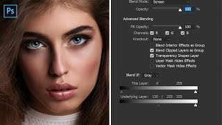 My Secret Dodge Burn Trick In Photoshop Control Depth Using Sliders