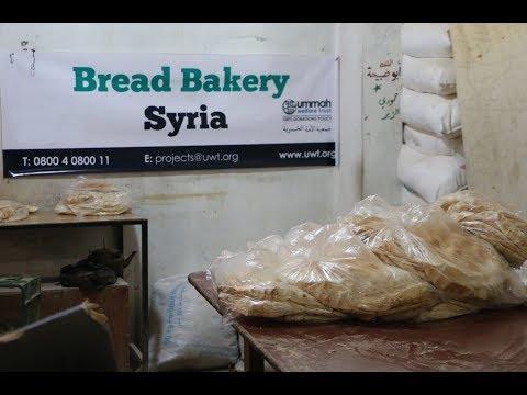 A Bread Bakery in Binnish, Syria