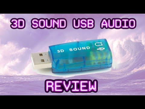 World's Cheapest Sound Card 3D Sound Quick And Dirty Review || Gearbest