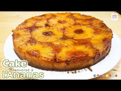 cake-renversé-à-l'ananas-et-sauce-caramel