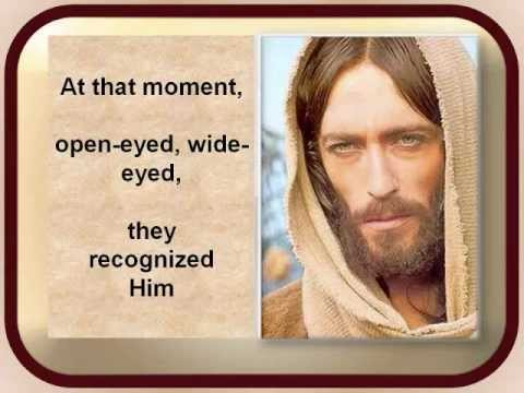 Walk To Emmaus - Luke 24:13-31 (The Message)