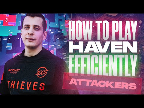 Valorant tutorial - How to play Haven Efficiently - Attackers Side