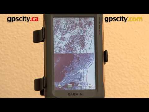Garmin Montana 600 650 650t: Topographic Map View @ gpscity.com