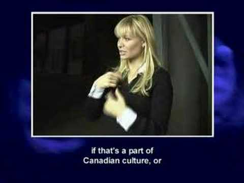 Deaf TV the Television Program Part 3 Deanne Bray, actress
