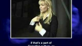 Deaf TV the Television Program Part 3- Deanne Bray, actress