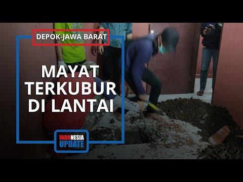 Heboh Temuan Mayat Terkubur Di Lantai Rumah Kontrakan, Kondisinya Terduduk Dengan Pakaian Lengkap