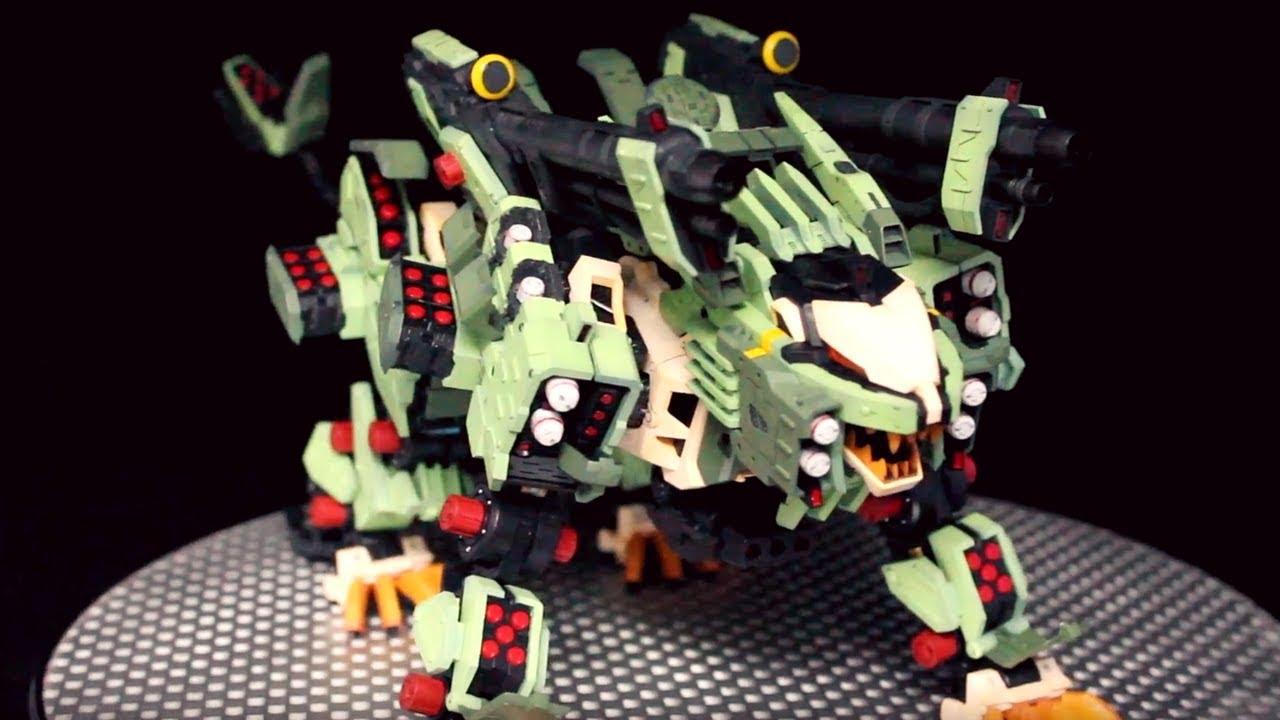 Zoids Review: HMM Liger Zero Panzer