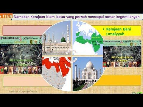 Sejarah Kssm Tingkatan 1 Bab 8 Tamadun Islam Sumbangan 2nd Youtube