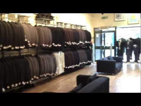Suit Hire In Leicester At Christopher Scotneys.mov