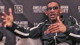Daniel Jacobs KICKS OFF Tough Talk vs Canelo - Vegas Press Conference