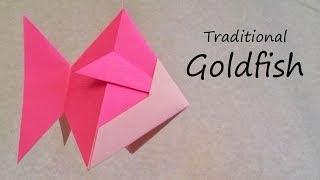 Origami Goldfish: Tutorial