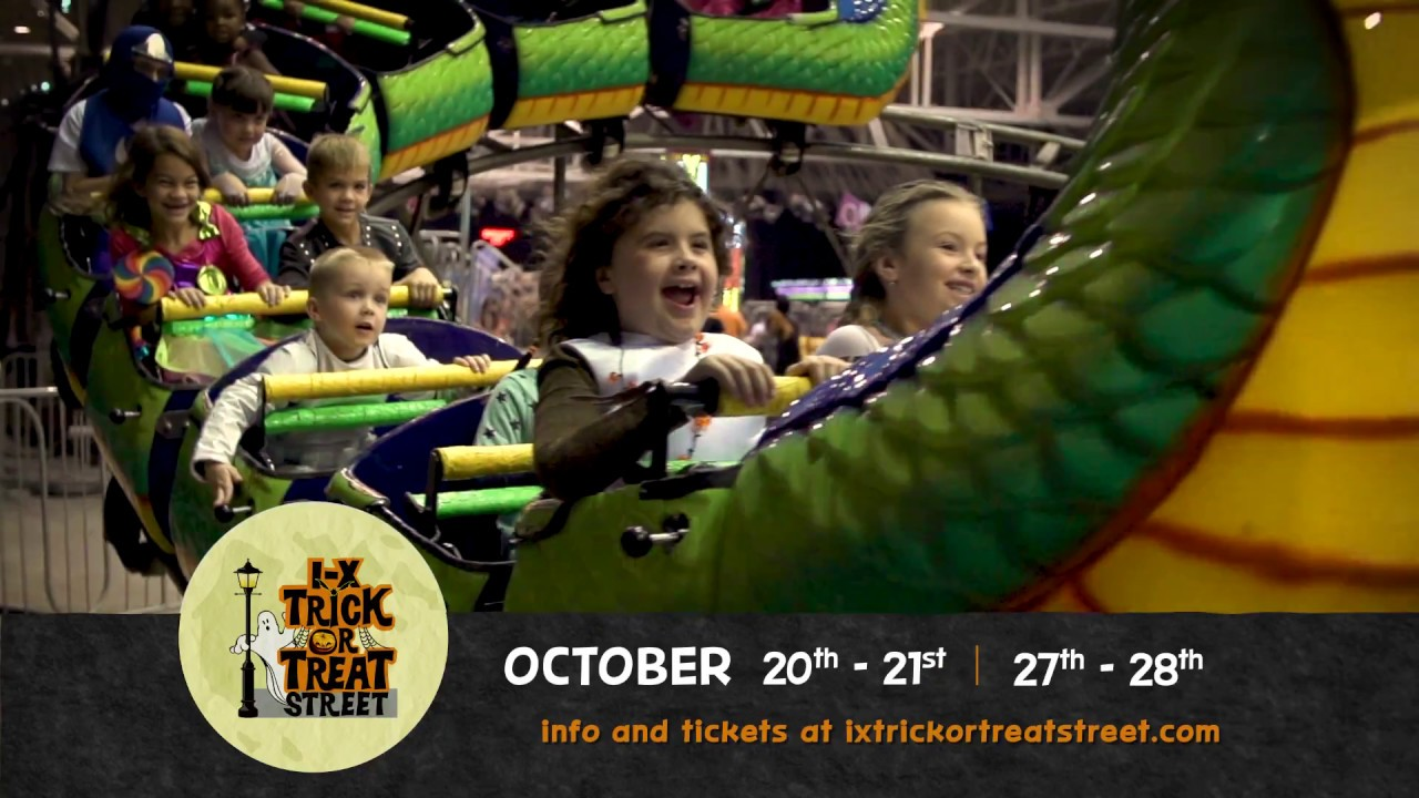 I-X Trick or Treat Street 2018 at the I-X Center in Cleveland!