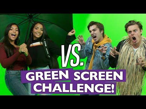 Green Screen Challenge!! W/ Brian Redmon, Boston Tom & Montoya Twinz