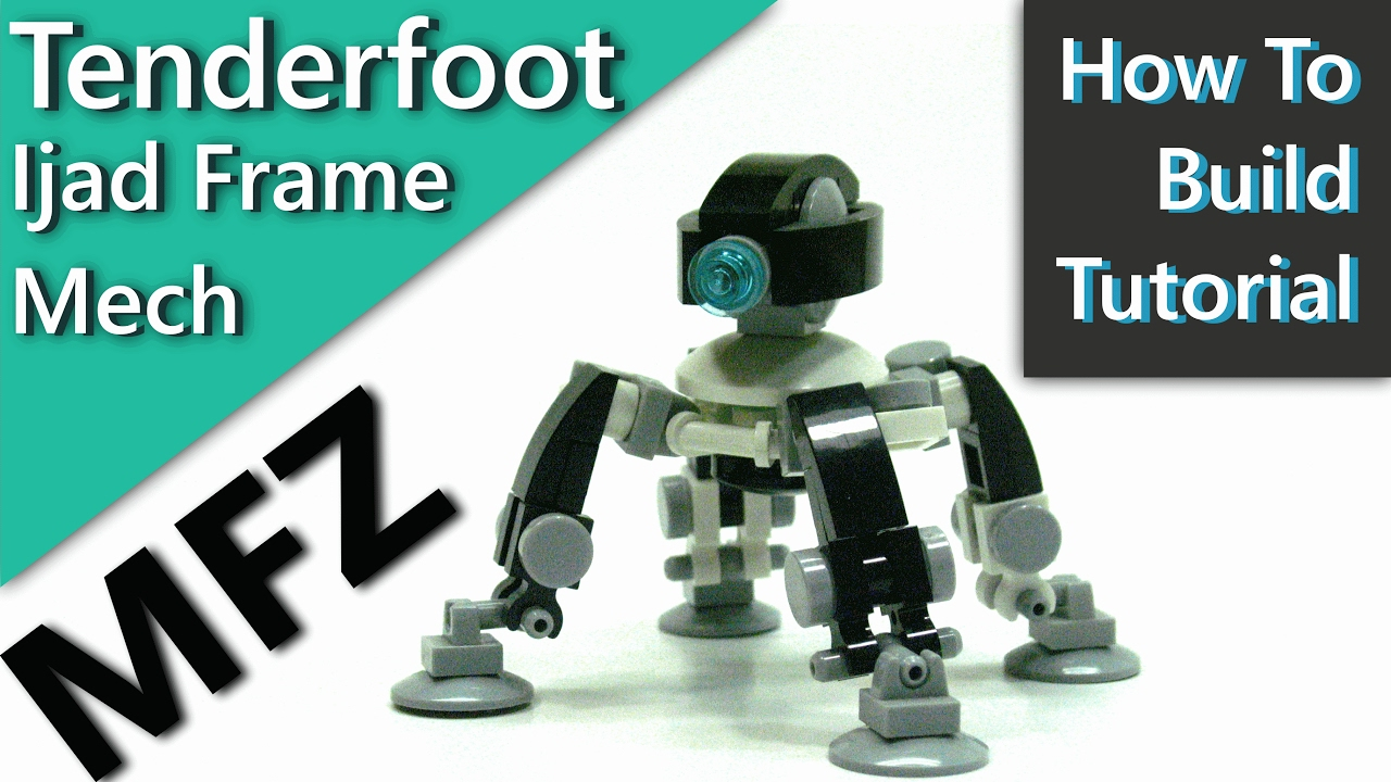 (Ijad Frame Tutorial) U0027Tenderfootu0027 A Mech For Mobile Frame Zero, I Have  MORE Mech Tutorials!