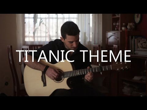 My Heart Will Go On - Titanic theme (fingerstyle guitar cover by Peter Gergely)