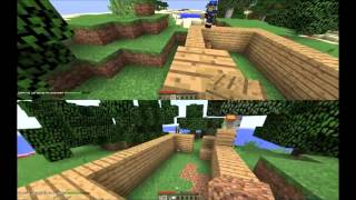 Testing Out MINECRAFT Split Screen On PC