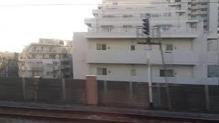 東武20050系 上り右手車窓 西新井~梅島