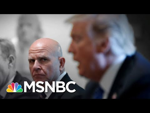 Fmr. Trump NSA McMaster Claims Trump Is Tough On Russia   The 11th Hour   MSNBC