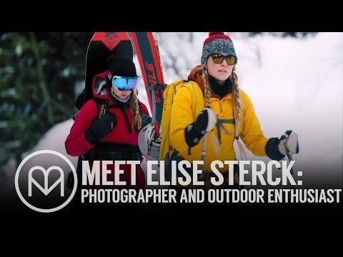 Meet Elise Sterck: Adventure photographer and backcountry skier