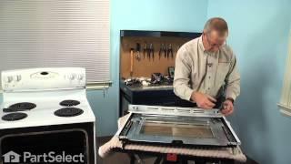 Range/Stove/Oven Repair - Replacing the Door Handle (Whirlpool Part # 74011768)