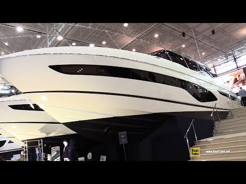 2018 Princess V65 Luxury Motor Yacht - Walkaround - 2018 Boot Dusseldorf Boat Show