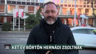 Két év börtönre ítélte a zágrábi bíróság Hernádi Zsoltot 19-12-30