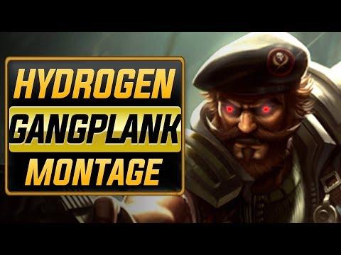 "Hydrogen ""Gangplank Main"" Montage | Best Gangplank Plays"
