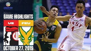 UE vs. FEU - October 27, 2019 | Giga Highlights | UAAP 82 MB
