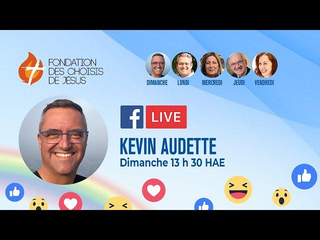 Facebook Live quotidien 04/10/2020 - Acceptes-tu de renoncer à ton bien-être, à ton image...