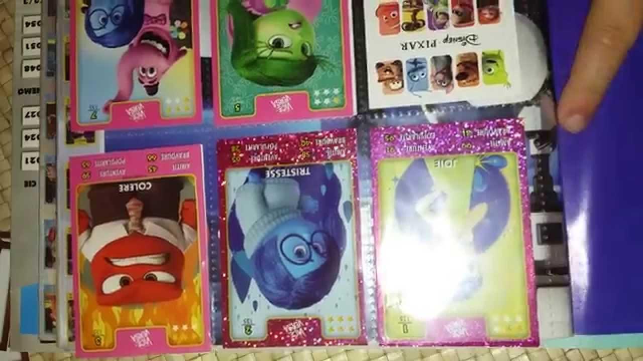 Cartes Album Héros Disney Pixar De Auchan Et Cadeaux Verres Et Sa