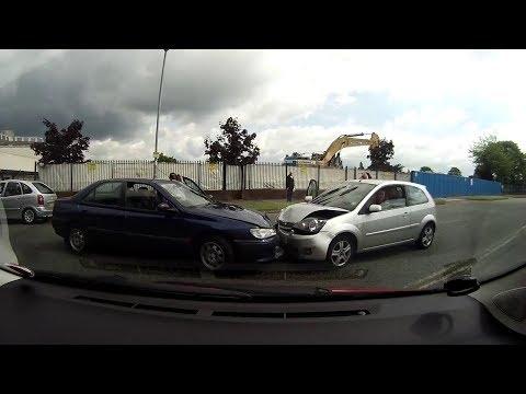 Dashcam UK - Car Peugeot Insurance Fraud in Manchester