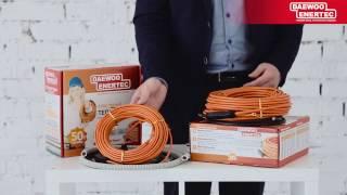Кабельный теплый пол DAEWOO ENERTEC