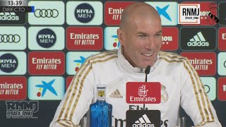 Rueda de prensa de ZIDANE previa Real Madrid - Sevilla (17/01/2020)