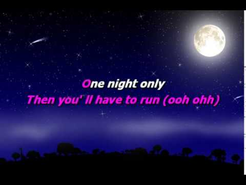 Jenifer Hudson - One night only (Karaoke)