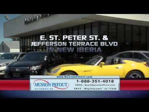 Used Car Congo Line TV Infomercial - Musson Patout Automotive