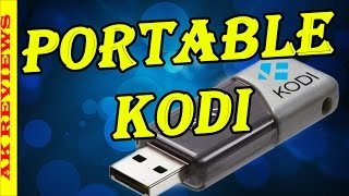 How to Install XBMC KODI on a USB Flash Drive (Portable Kodi 16)