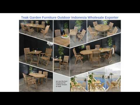 Teak Garden Outdoor Furniture Manufacturers Indonesia Wholesale Exporter