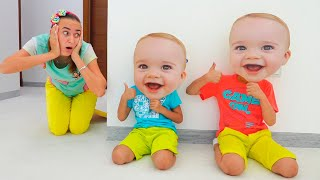 Vlad and Niki play with Toys and have fun with Mom  collection videos for kids