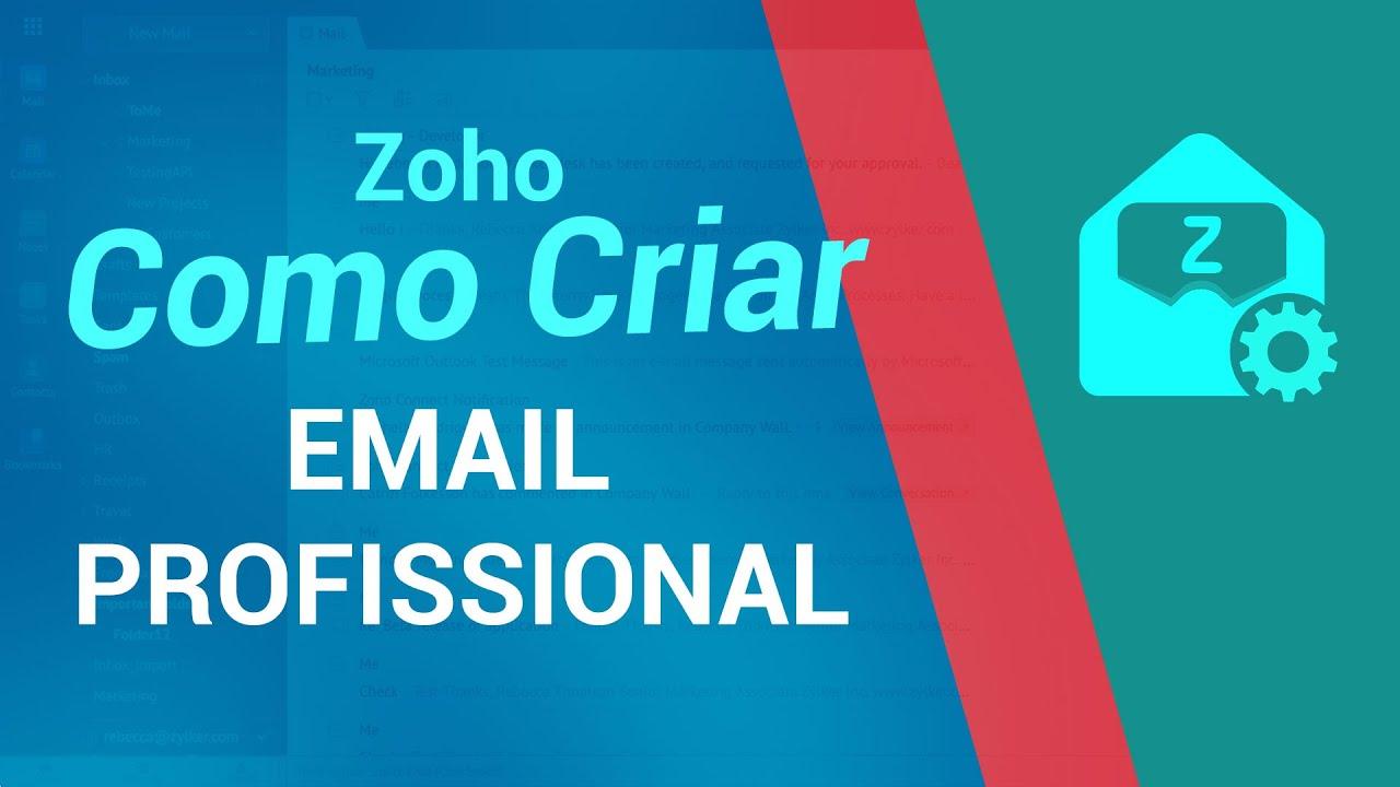 Crie Email Profissional Gratuito com Zoho Mail