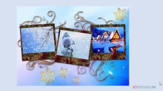 Создание новогоднего коллажа из фото в Adobe Photoshop
